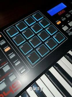 Akai Professional MPK249 49-Key USB MIDI Keyboard Controller With Box And Cables