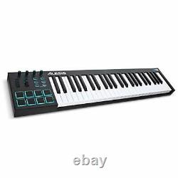 Alesis V49 49 Full Sized Key USB MIDI Keyboard Controller with 8 Backlit Pads