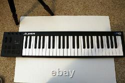 Alesis V49 Used 49-Key USB/MIDI Keyboard Controller Sustain Pedal Weighted Keys