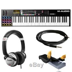 M-Audio Code 61 61-Key USB/MIDI Keyboard Controller with X/Y Touch Pad + Stand