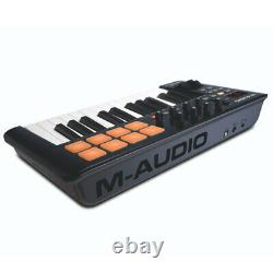 M-Audio Oxygen 25 USB MIDI Pad Portable Keyboard Controller with Ableton Live BLK