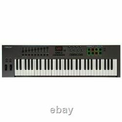 Nektar Impact LX61+ USB MIDI Controller Keyboard With Bitwig 8 Track Software