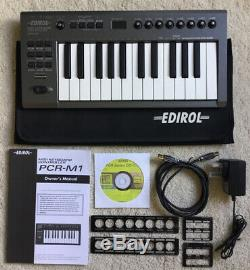 Roland Edirol PCR M1 Midi keyboard Controller Battery/USB or psu powered