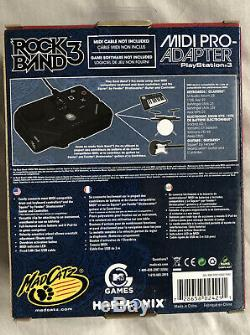 Sealed Rock Band 3 MIDI PRO Adapter for PS3 PS4